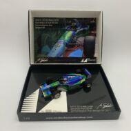 Mick Schumacher Benetton Ford B194 Demo Run Belgien GP 2017 1:43