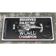 Mercedes-AMG Petronas Motorsports F1 Team No.44 2nd USA GP 2019 Mercedes- AMG F1 W10 EQ Power+2019 Formula One Driver Champion Lewis Hamilton Special Platform With Pit Board