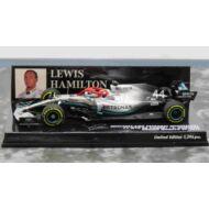 MERCEDES AMG PETRONAS FORMULA ONE TEAM F1 W10 EQ POWER+ - LEWIS HAMILTON -WINNER MONACO GP 2019