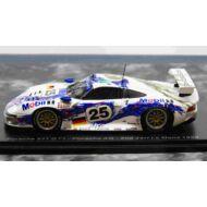 Porsche 911 GT1 No.25 Porsche AG 2nd 24H Le Mans 1996 H-J. Stuck - B. Wollek - T. Boutsen