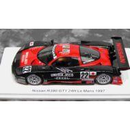 Nissan R390 GT1 No.22 24H Le Mans 1997 A. Suzuki - R. Patrese - E. van de Poele