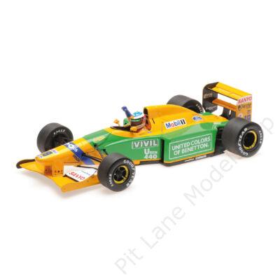 Michael Schumacher_1992_Benetton_B192
