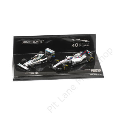 Alan Jones & Felipe Massa_1978 & 2017_WILLIAMS_FW06 & FW40