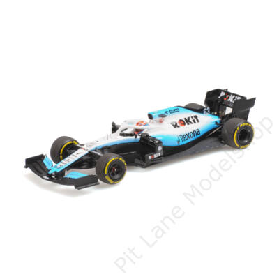 GEORGE RUSSELL_2019_WILLIAMS_FW42