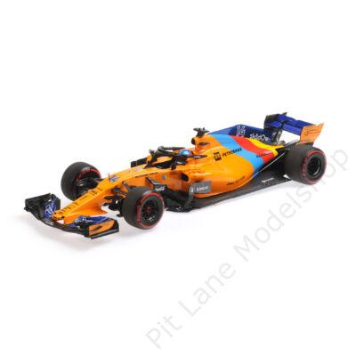 MCLAREN RENAULT MCL33 – FERNANDO ALONSO – LAST F1 RACE – ABU DHABI GP 2018 L.E. 518 pcs.