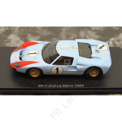 K. MILES - D. HULME_1966_Shelby American_GT40 Mk 2