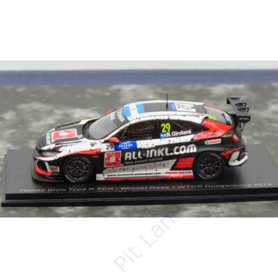 Nestor Girolami_2019_ALL-INKL.COM Münnich Motorsport_Type R TCR