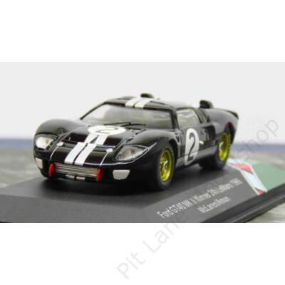 McLaren - Amon_1966_Shelby American_GT40 Mk 2