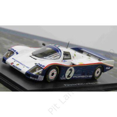 D. Bell - H-J. Stuck - J. Ickx_1985_Porsche_962 C