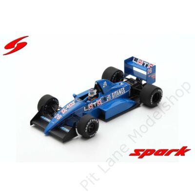 Stefan Johansson_1988_Ligier_JS31