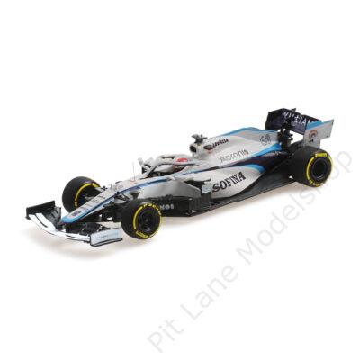 George Russel_2020_Rokit Williams Racing_FW43