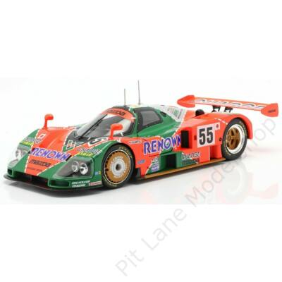Weidler/Herbert/Gachot_1991_Mazdaspeed Co. Ltd. Oreca_FW43
