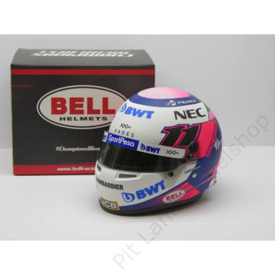 Sergio Perez 2019 Racing Point 1/2 helmet