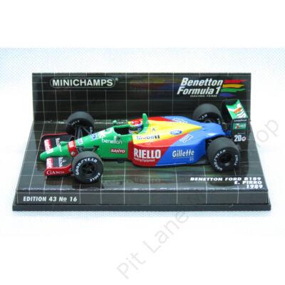 Emanuelle Pirro_1989_Benetton_B189