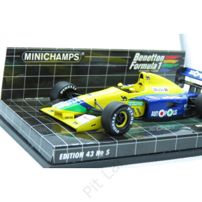 Michael Schumacher_1991_Benetton_B191