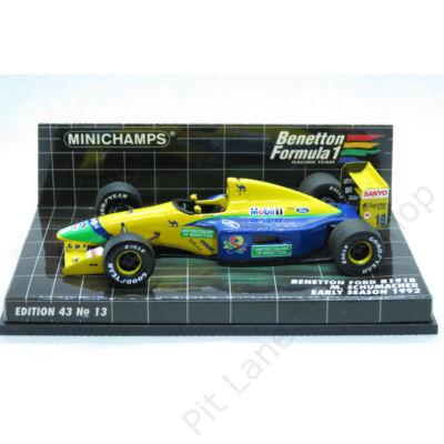 Michael Schumacher_1992_Benetton_B191B