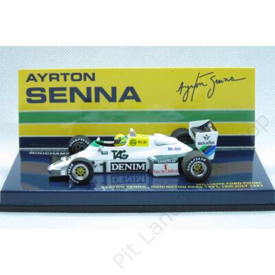 Ayrton Senna_1983_Williams_FW08C