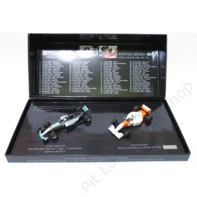 Lewis Hamilton, Ayrton Senna_1993, 2015_Több csapat_