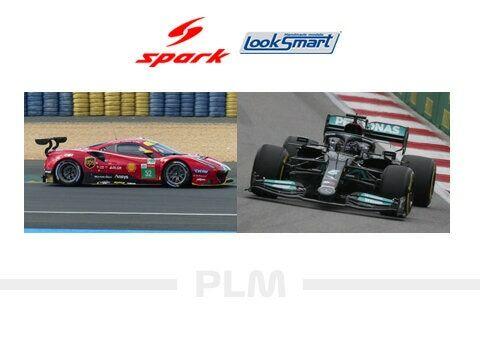 2021.10.12 - SPARK 1/43 & 1/18 Formula One & Looksmart Le Mans 2021