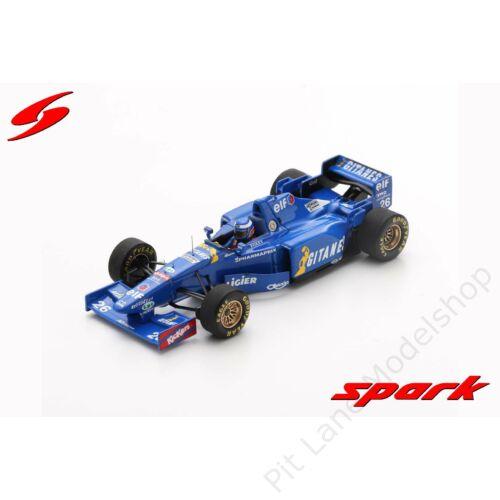 Olivier Panis_1995_Ligier_JS41