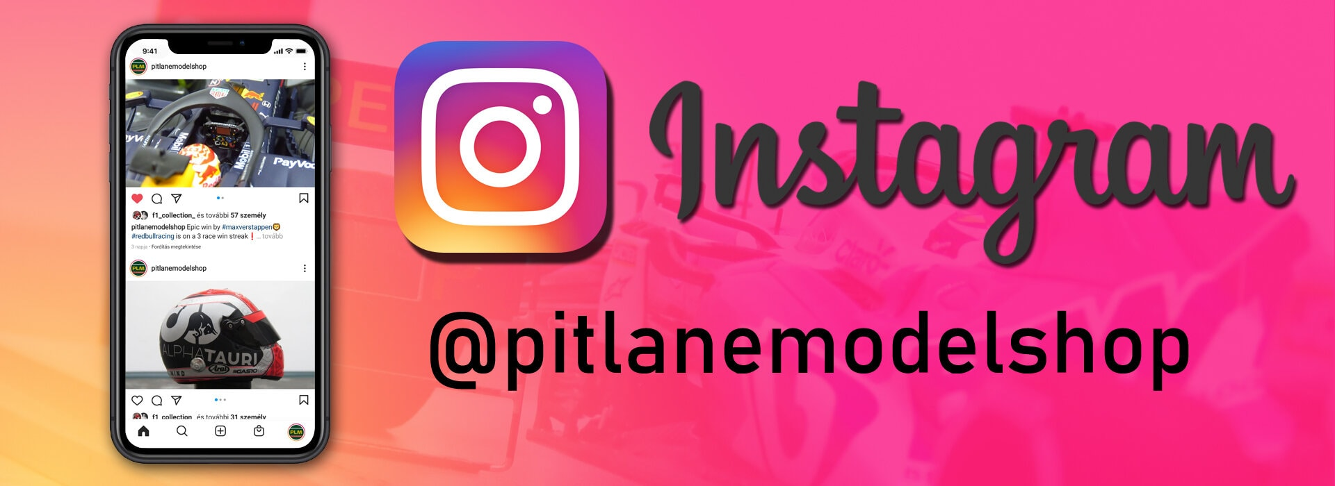 Instagram oldal
